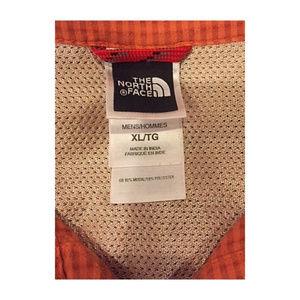 dfdb3405c Mens North Face Checked Button Shirt Zip Pocket XL